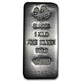 Silver Bars By Weight